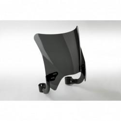 Czarna szyba motocyklowa Mohawk - mocowanie czarne typu B (52-56 mm) / N2837-002