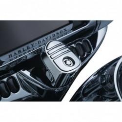 Chromowana nakładka Tri-Line na stacyjkę motocykla Harley Davidson / KY-6984