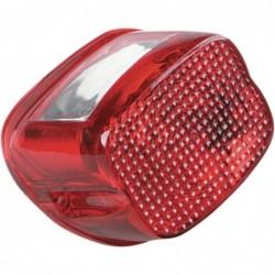 Czerwony klosz lampy tylnej...