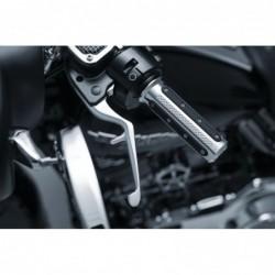 Klamki sprzęgła i hamulca Trigger Levers do Harley Davidson - chromowane / KY-1981