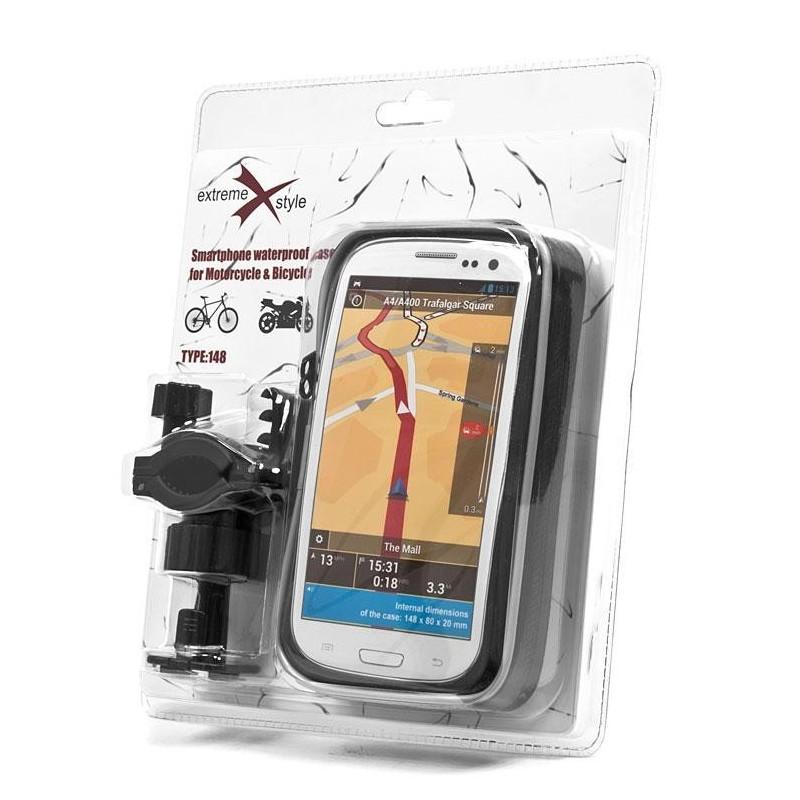 Uchwyt eXtreme z wodoodpornym etui na telefon / EXT 167
