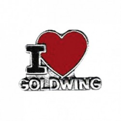I love Goldwing - przypinka motocyklowa / TOR 8100796