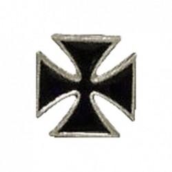 Krzyż maltański - mała przypinka motocyklowa / TOR 8099351