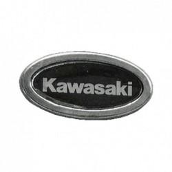 Kawasaki - owalna przypinka motocyklowa, gadżet / TOR 8097996