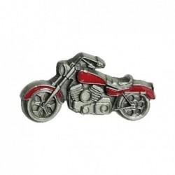Czerwony motocykl - chopper...