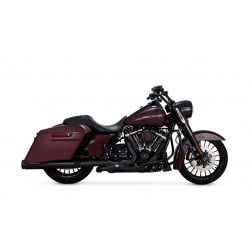 Czarne tłumiki Vance & Hines Torquer 450 SLIP-ON / Harley-Davidson Touring