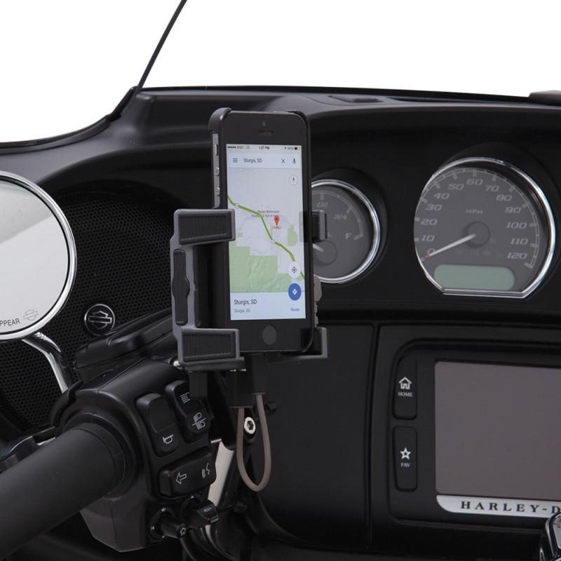 Uchwyt na telefon / GPS z ładowarką / PE 44020590