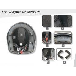Kask motocyklowy AFX FX-76 wnętrze