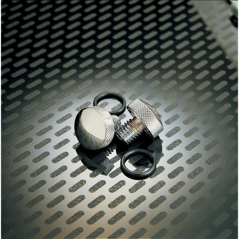 Chromowane śruby montażowe do siedzenia Harley Davidson / PE DS490046