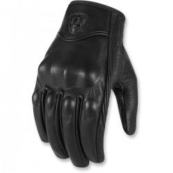 Męskie rękawice motocyklowe ICON Pursuit Touchscreen CE