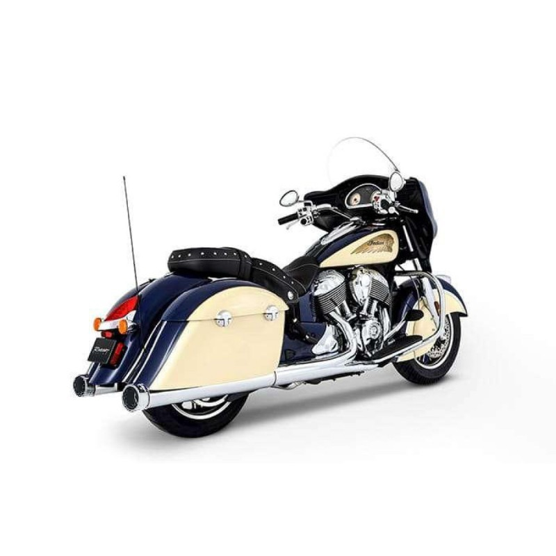 "Tłumiki Rinehart Racing SLIP-ON 4"" chromowane - Indian Touring RIN 500-0502C"