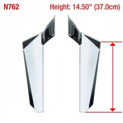 Motocyklowe deflektory na nogi / N762 - wymiary