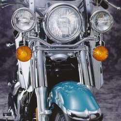 Motocyklowe deflektory na nogi / N762