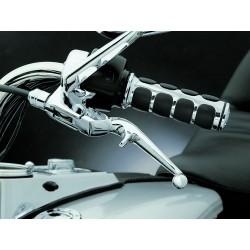 Motocyklowe manetki Iso Grips prążki Harley Davidson / lewa manetka