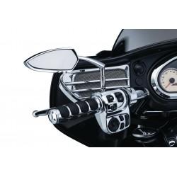 Motocyklowe manetki ISO-GRIPS prążki