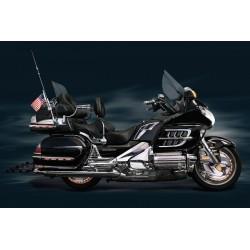 Chromowana osłony akumulatora motocykla Gold Wing