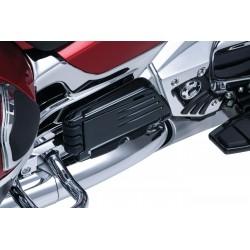 Czarne podesty dla pasażera Honda Gold Wing / KY-7061 - złożone