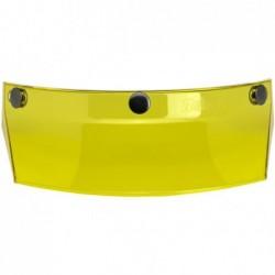 Daszek do kasku Biltwell Moto Visor Yellow / BW 2002-103 - standard 3 pinowy