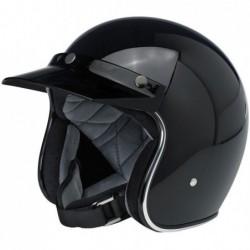 Daszek do kasku Biltwell Moto Visor Black / BW 2002-561 - kask otwarty