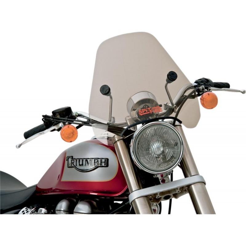 Szyba motocyklowa przyciemniana Slipstreamer Spitfire S-06 z czarnymi okuciami / PE 23130002