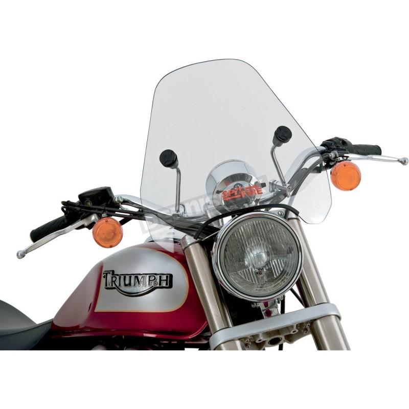 Szyba motocyklowa Slipstreamer Spitfire S-06 z chromowanymi okuciami / PE 23130120