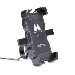 Motocyklowy uchwyt do smartfona z ładowarką indukcyjną - MH-PRO WC\MIDLAND C1487