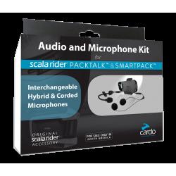 Audio kit z mikrofonem Cardo PackTalk\ SRAK0032