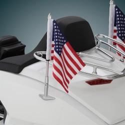 Chromowany maszt z amerykańską flagą Honda Gold Wing 2018 - / BB 52-965