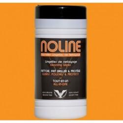 Chusteczki czyszczące z mikrofibrą - 80 sztuk / NOLINE 80