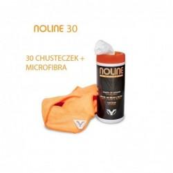 Chusteczki czyszczące z mikrofibrą - 30 sztuk / NOLINE 30 - microfibra