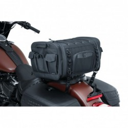 Torba motocyklowa Kuryakyn Momentum Drifter Bag / KY-5283 - po zamontowaniu