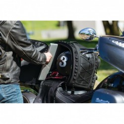 Torba motocyklowa Kuryakyn Momentum Road Warrior Bag / KY-5284 - po zamontowaniu