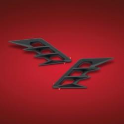 Czarne nakładki na przedni błotnik Gold Wing 1800 '18 - /BB 52-959BK