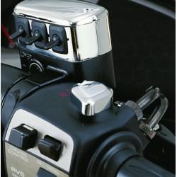 Chromowana nakładka na włącznik zapłonu motocykla Honda Goldwing / BB 52-609