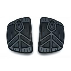 Czarne mini podesty kierowcy lub pasażera Kuryakyn Spear / KY-5653