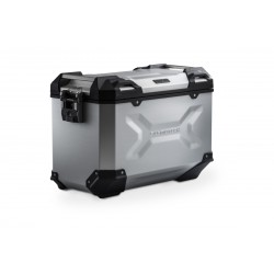 Lewy kufer TRAX ADV SW-MOTECH srebrny\ ALK.00.733.10000L/S