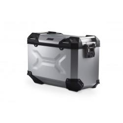 Prawy kufer SIDE CASE TRAX ADV 45 R/S srebrny\ ALK.00.733.10000R/S