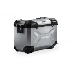 Lewy kufer 2 SIDE CASE TRAX ADV 37 L/S srebrny\ ALK.00.733.11000L/S
