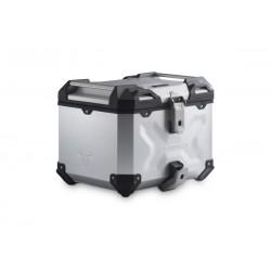 Kufer centralny TOP CASE TRAX ADV 38 S srebrny\ ALK.00.733.15000/S