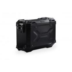 Lewy kufer boczny SW-Motech TRAX ADV M 37L czarny\ ALK.00.733.11000L/B