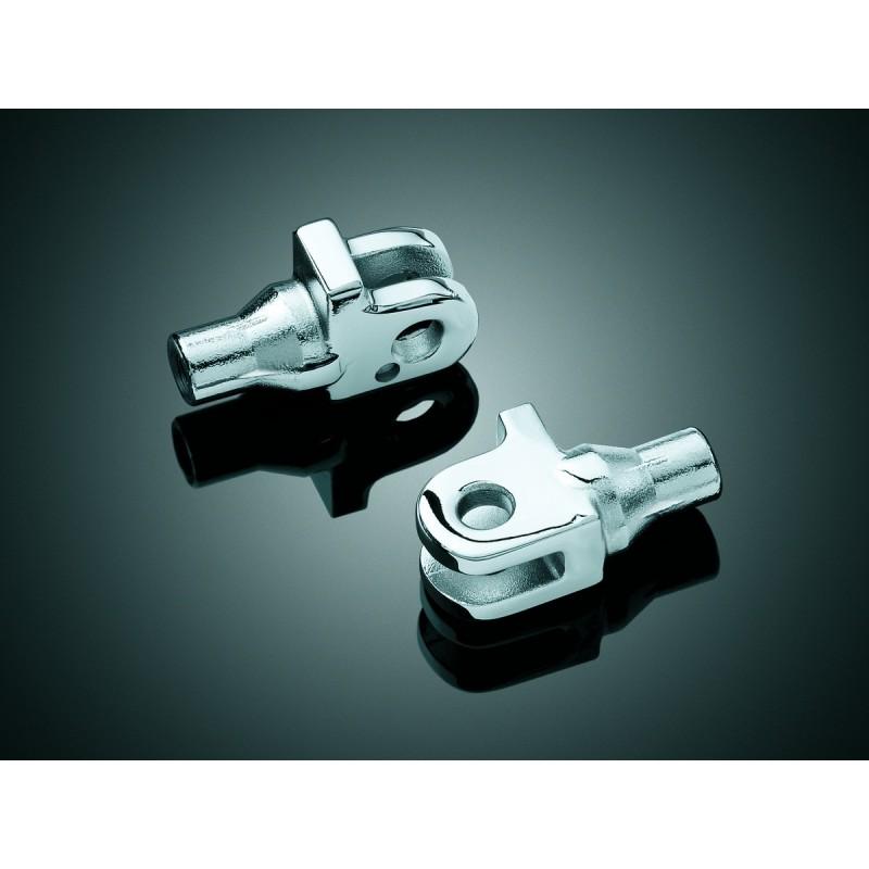 Tylne adaptery stożkowe podnóżków Kuryakyn do sportowych motocykli Honda