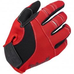 Rękawice Moto Biltwell czerwono-czarne\ BW 1501-0804-001
