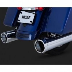 Układ wydechowy Monster Round SLIP-ON do H-D Touring / V16780 - tipy