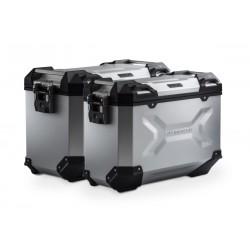 Zestaw kufrów TRAX srebrny SW-MOTECH KTM 790 Adventure KFT.04.521.70000/S