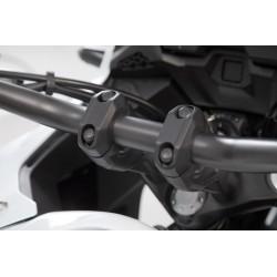 Czarne podwyższenie kierownicy o 20mm SW-Motech Tenere 700, KTM 990/ LEH.00.039.24100.20/B
