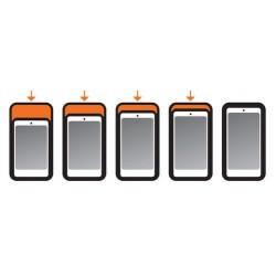 Uniwersalne twarde etui na telefon do motocykla / Opti Hard Case 90540 - rozmiary
