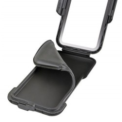 Uniwersalne twarde etui na telefon do motocykla / Opti Hard Case 90540 - silikon