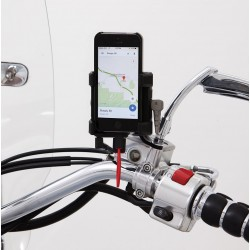 Uchwyt do lusterka na telefon / GPS z ładowarką / PE 44020597