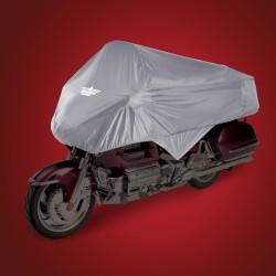 """Szary pokrowiec na motocykl - """"połówka"""" rozmiar XL / BB 4-458G"""