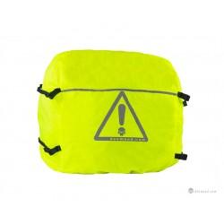 Odblaskowy pokrowiec przeciwdeszczowy na torbę Discovery L / GRC_MA13